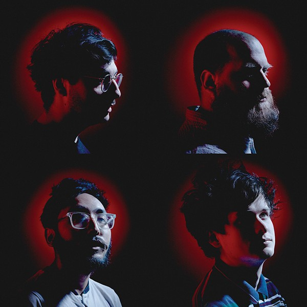 Foxing has found huge success in the nation's emo-rock scene. - HAYDEN MOLINARO