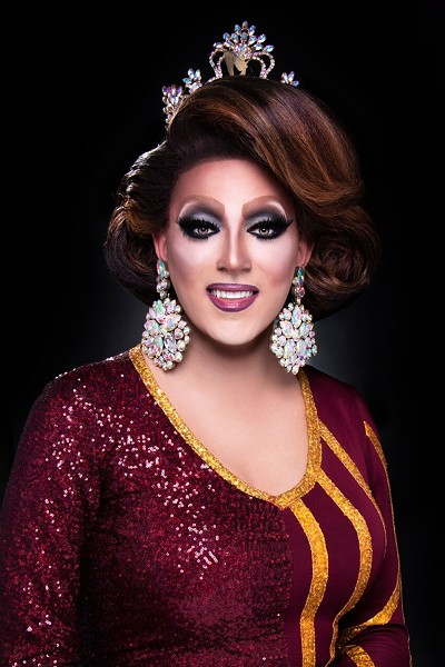 Janessa Highland was crowned Miss Gay Missouri America this spring at Hamburger Mary's. - GINGERSNAP PHOTOGRAPHY