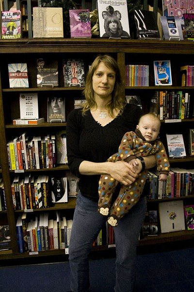 Kelly von Plonski of Subterranean Books in the Delmar Loop. - PHOTO: EMILY GOOD