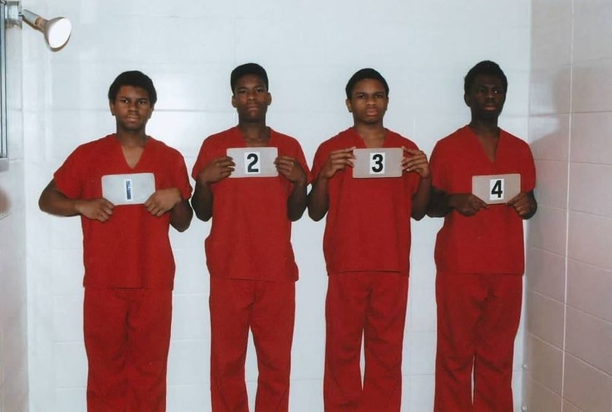 Anthony Williams in a four-person lineup. - FACEBOOK.COM/FREEANTHONYWILLIAMS