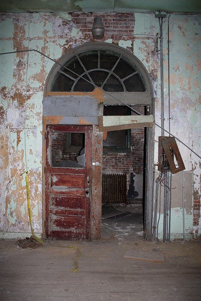 An interior doorway of the Mullanphy. - PHOTO BY CHRIS NAFFZIGER