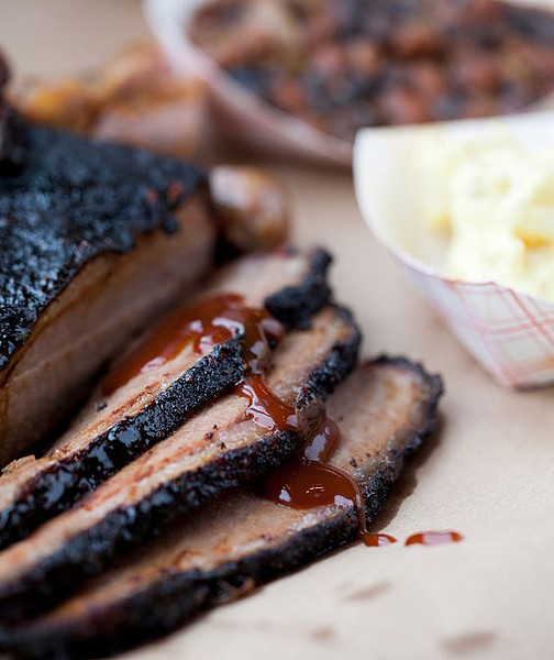 Smoked brisket is available as part of Sugarfire's Thanksgiving order. | Jennifer Silverberg
