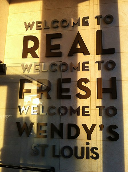"The new ""ultra modern"" Wendy's on Hampton Avenue.   Liz Miller"