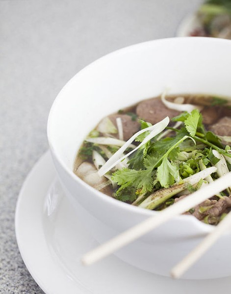 St. Louis Pho's namesake dish, a bowl of pho - JENNIFER SILVERBERG