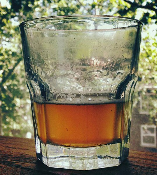 The thai basil IPA. | Earthbound Brewing