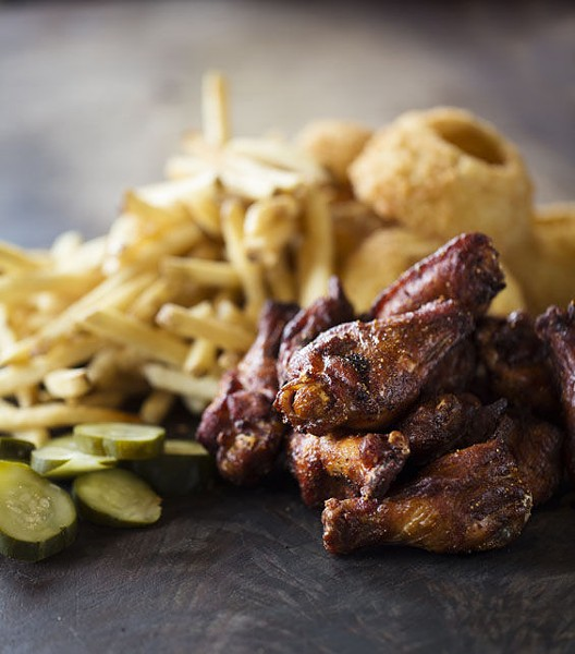 The smoked chicken wings at WildSmoke. | Jennifer Silverberg