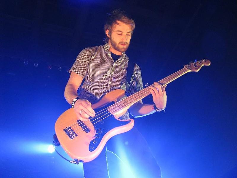 Paramore bassist Jeremy Davis - ANNIE ZALESKI