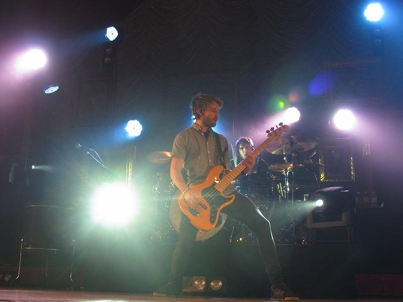 Drummer Zac Farro, bassist Davis - ANNIE ZALESKI