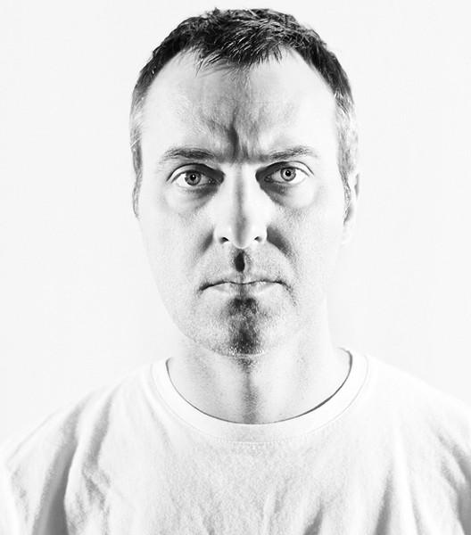 Jon Mueller performs at Foam on Friday, October 17. - KAT SCHLEICHER