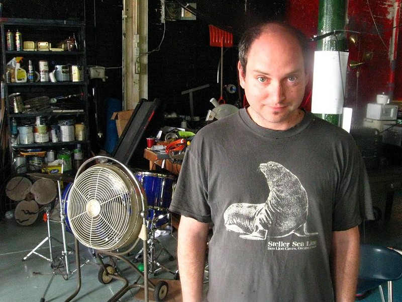 Kevin Harris of Floating Laboratories - JOSH LEVI