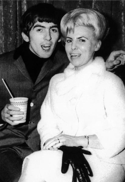 George and Louise Harrison. - COURTESY ACCLAIM PRESS
