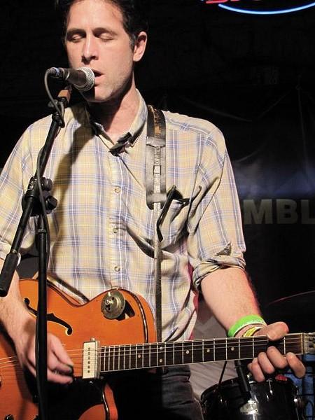 Jason Collett at SXSW, 3/17/10 - DANA PLONKA
