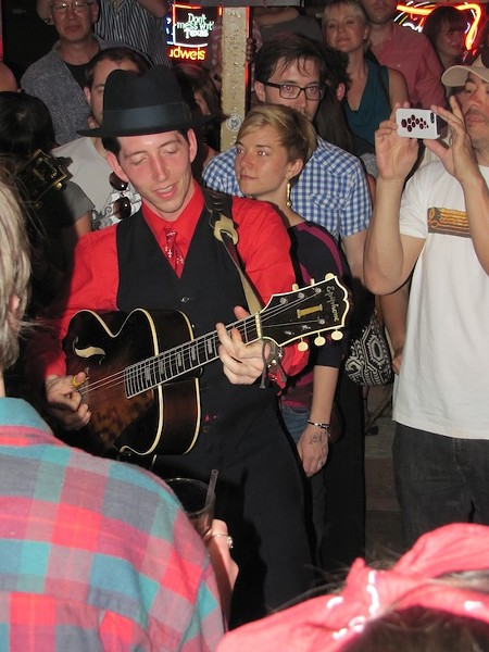 Pokey LaFarge at the KDHX and Twangfest Day Parties at SXSW at the Broken Spoke - DANA PLONKA