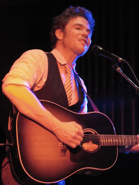 Josh Ritter at St. David's Sanctuary - DANA PLONKA