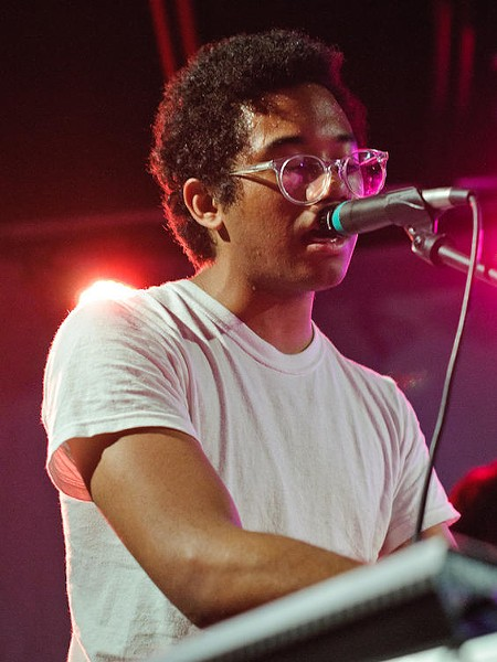 Toro Y Moi's Chaz Bundick. More photos here - JASON STOFF