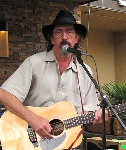 James McMurtry at Guitartown Party at SXSW 2012 - DANA PLONKA