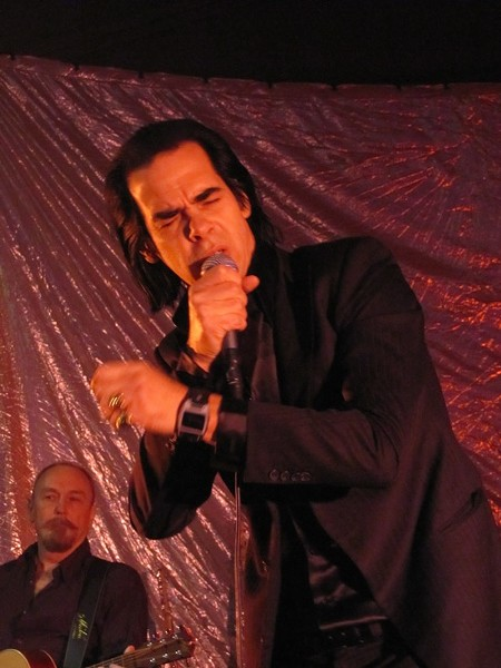 Nick Cave at SXSW 2013. - DANA PLONKA