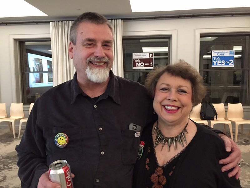 Sandra Mims and David Buck - JAIME LEES