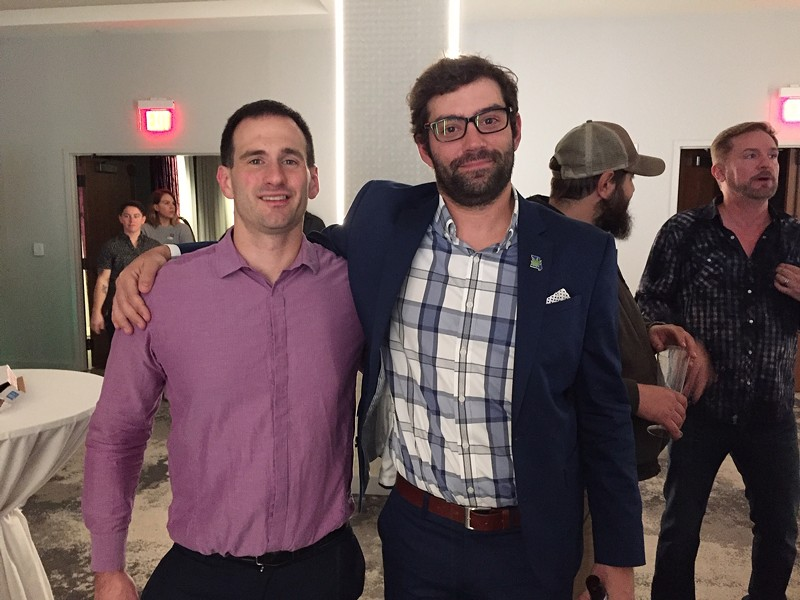 John Payne (left) and Chris Chesley of New Approach Missouri - JAIME LEES