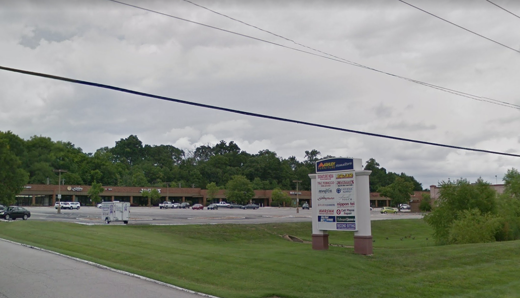 A gunman reportedly shot at least one person at the Catholic Supply Store. - GOOGLE EARTH