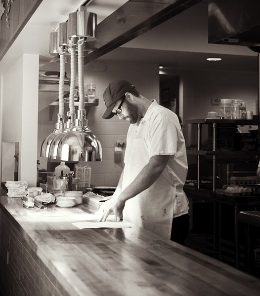 Nate Hereford, chef de cuisine at Niche. - PHOTO BY JENNIFER SILVERBERG