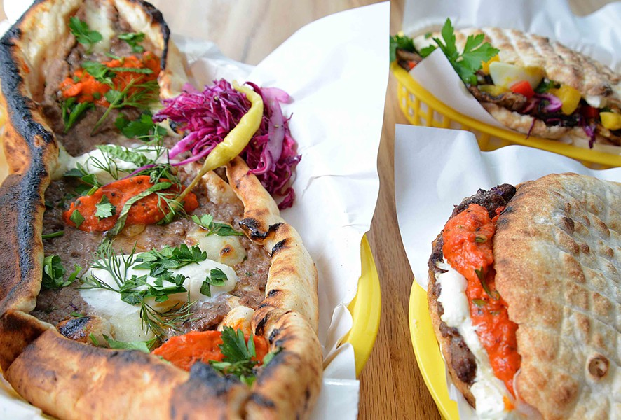 Balkan Treat Box's menu finds inspiration from Bosnian, Turkish, Croatian and other influences. - TOM HELLAUER