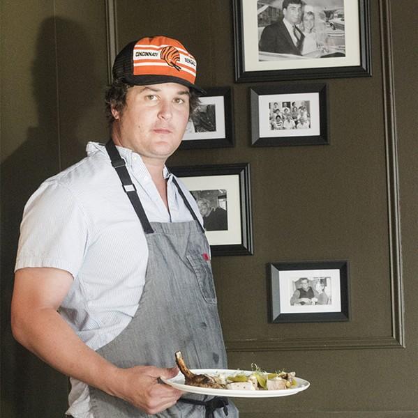 Chef Mike Randolph. - MABEL SUEN