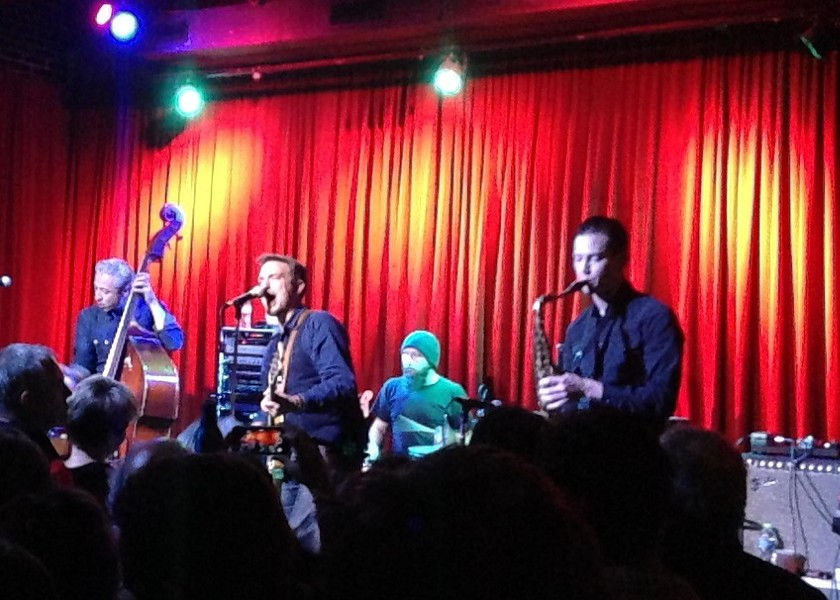 J.D. McPherson and Co. performing at Off Broadway. - PHOTO BY RICHARD MORIARTY