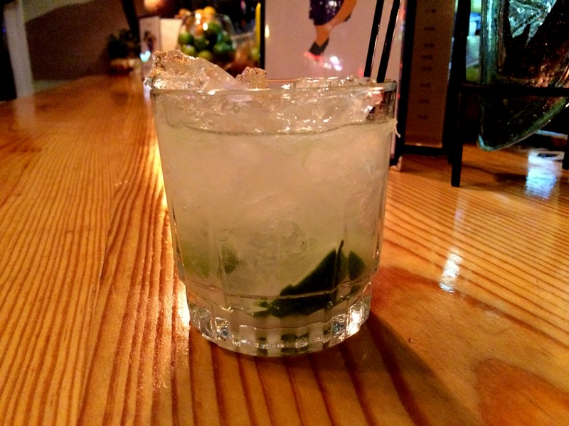 Brazil's national drink, the caipirinha. - CHERYL BAEHR