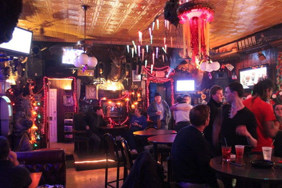 The Bastille, a gay bar in Soulard, may challenge the smoking ban. - RFT FILE PHOTO