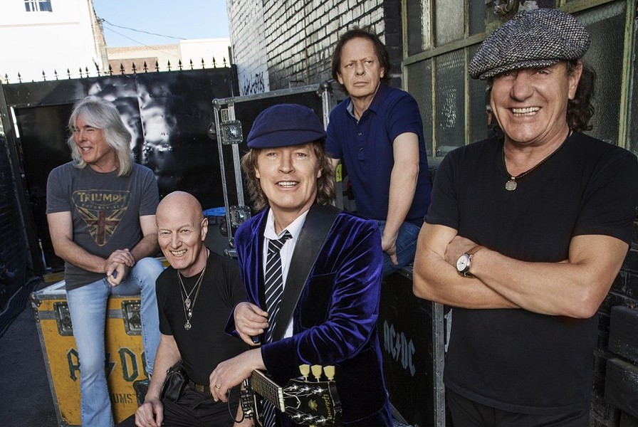AC/DC will perform at Scottrade Center on Saturday, February 20. - PHOTO BY JOSH CHEUSE