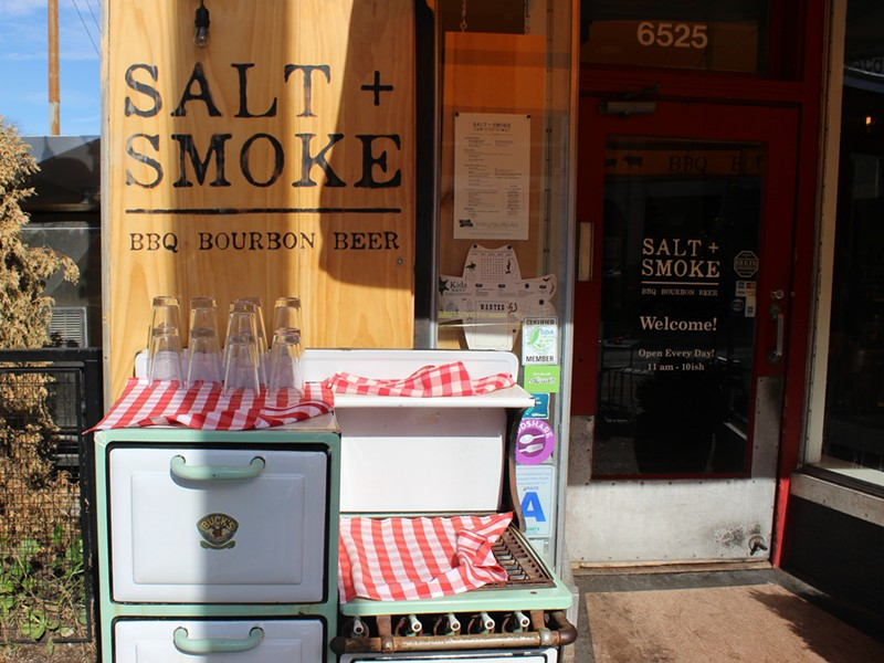 Salt and Smoke is located in the Delmar Loop. - PHOTO BY LAUREN MILFORD