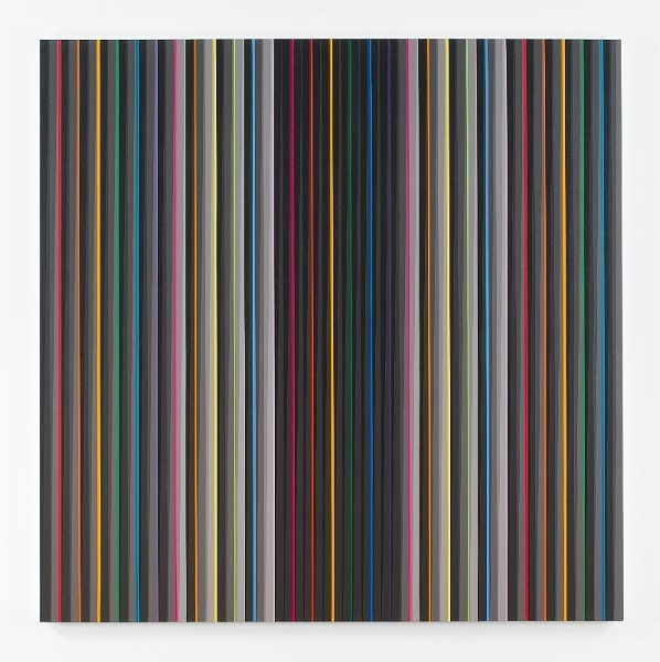 Gabriele Evertz, Intensification (Domicile), 2014, Acrylic on canvas over panel, 60 x 60 inches