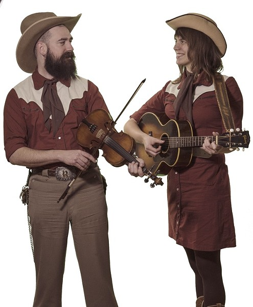 Kellie Everett and Ryan Koenig, a.k.a. the South Watson Sweethearts - PHOTO VIA THE BAND