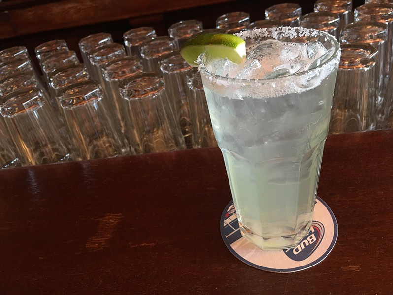 A house margarita from Chava's - PHOTO BY KELLY GLUECK