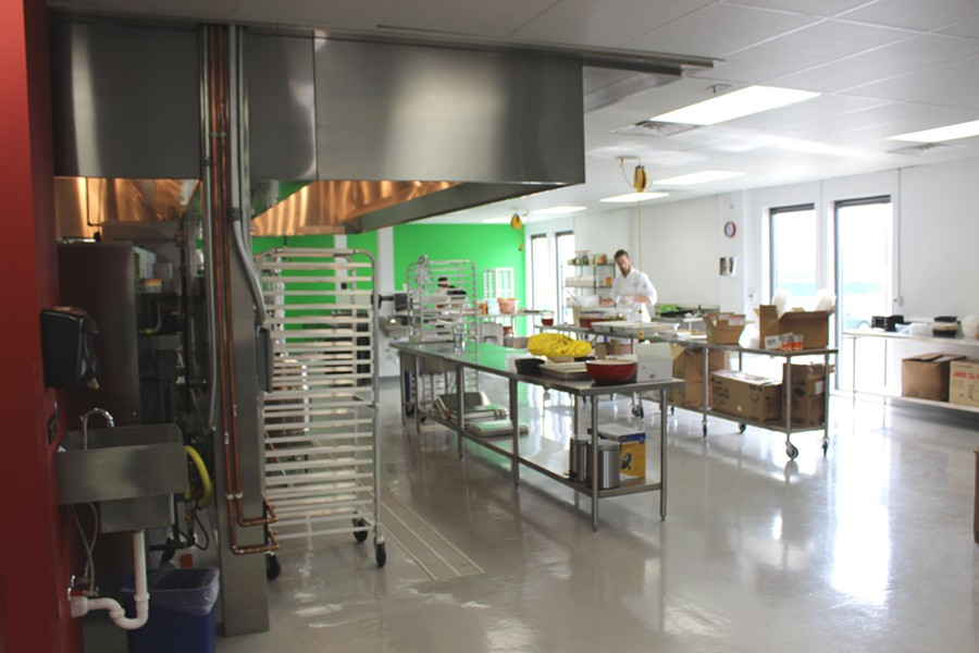 The large kitchen at Fred and Ricky's. - PHOTO BY LAUREN MILFORD