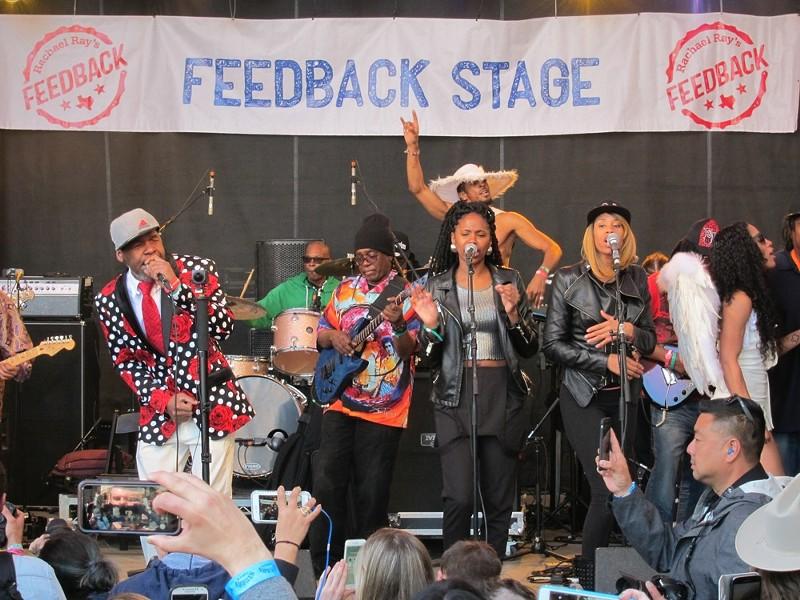 Funkadelic at Stubb's - ROY KASTEN