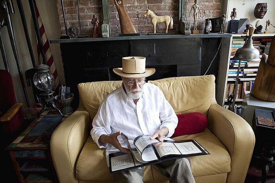 Veteran art dealer Harris Diamant discovered the work of James Deeds Jr. on eBay. - PHOTO BY SARA KERENS
