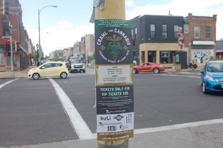Cherokee Street takes its 4/20 seriously. - PHOTO BY HARLAN MCCARTHY
