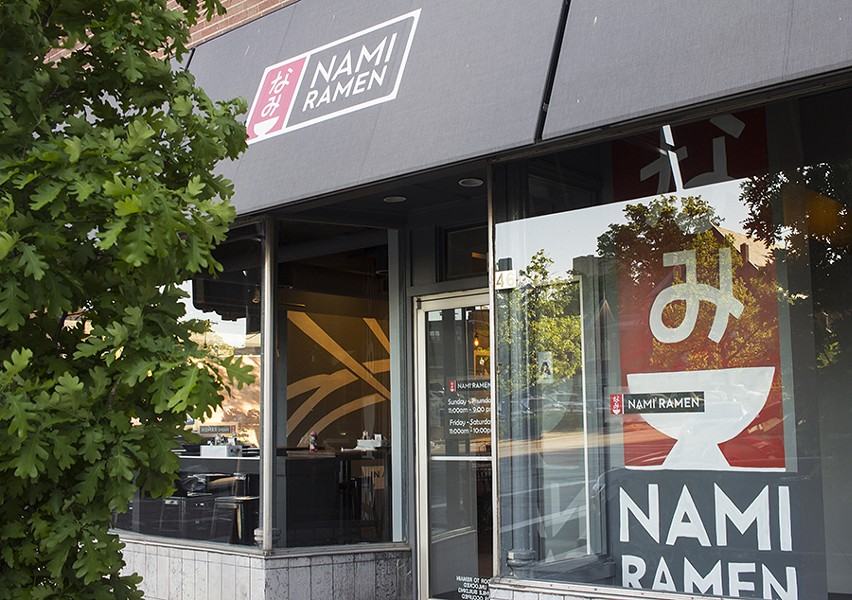 Nami Ramen is located in the former House of Wong downtown Clayton. - PHOTO BY MABEL SUEN