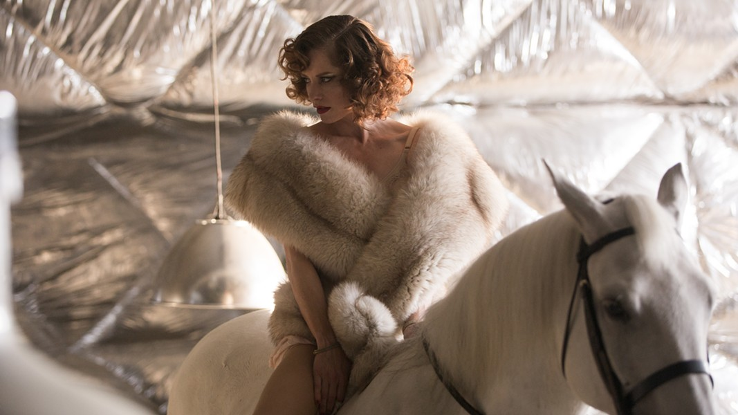 Sienna Guillory and horse. - PHOTO COURTESY OF MAGNOLIA PICTURES