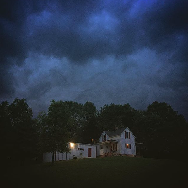 That sky, though! - PHOTO COURTESY OF INSTAGRAM  / REBECCAEILERING