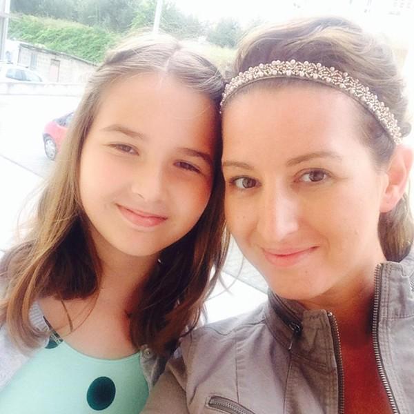 Erna Grbic and her daughter Ayla in 2014. - VIA FACEBOOK