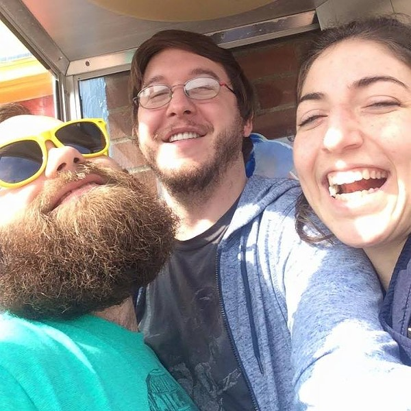 BAND SELFIE COURTESY OF THE VANILLA BEANS