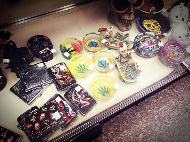 Stoner supplies - PHOTO BY JAIME LEES
