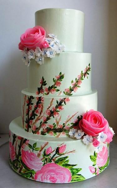 WEDDING CAKE AT SUGAREE BAKING COMPANY | PHOTO COURTESY OF SUGAREE BAKING COMPANY