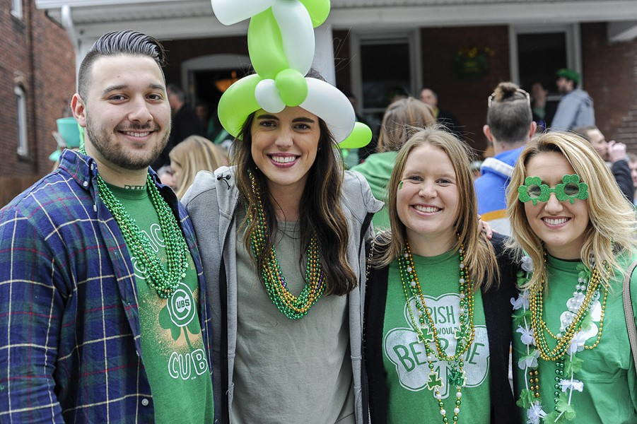 It's St. Patrick's Day on Saturday and Sunday. - KELLY GLUECK
