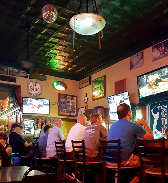 Tin Cup: the quintessential south city dive bar. - PHOTO BY JOSEPH HESS