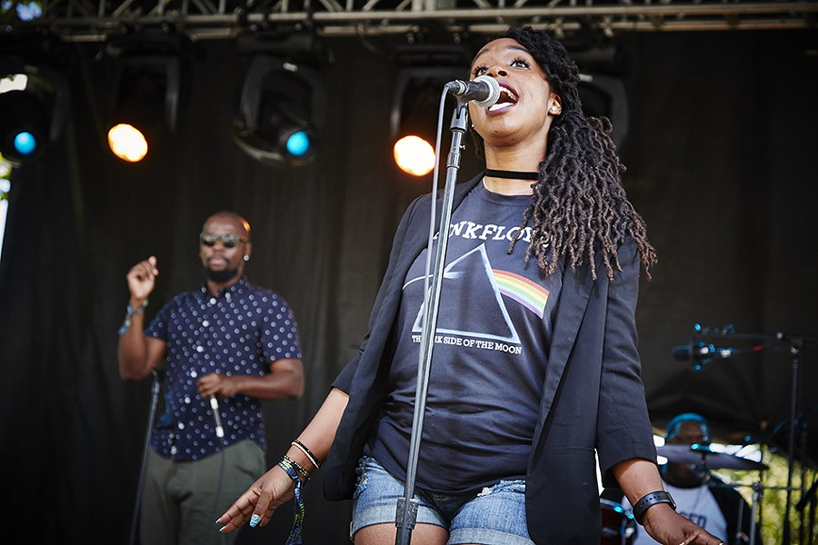 St. Louis' Illphonics performed on day one of the festival. - PHOTO BY STEVE TRUESDELL
