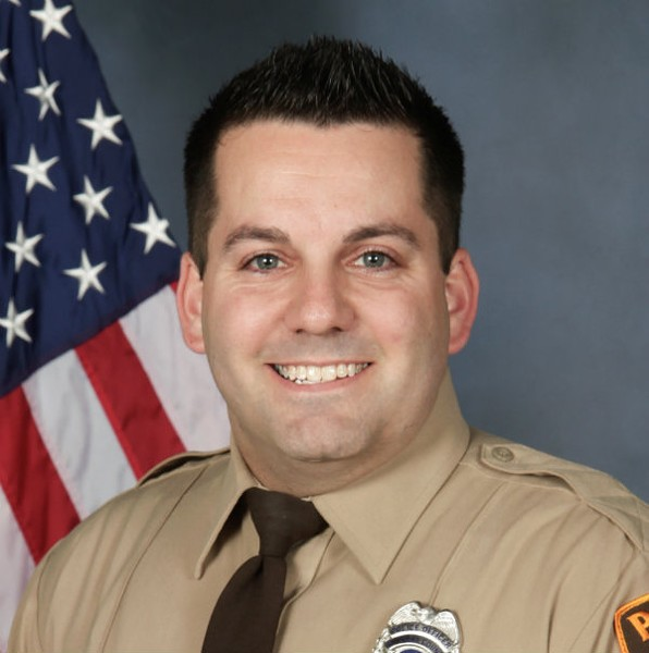 St. Louis Police Officer Blake Snyder will be buried today in Godfrey. - ST. LOUIS COUNTY POLICE